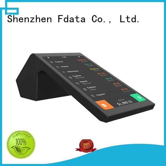 Fdata dual display mobile pos machine inquire now for retail shops