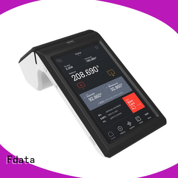 Fdata mobile pos machine energy-saving for sale