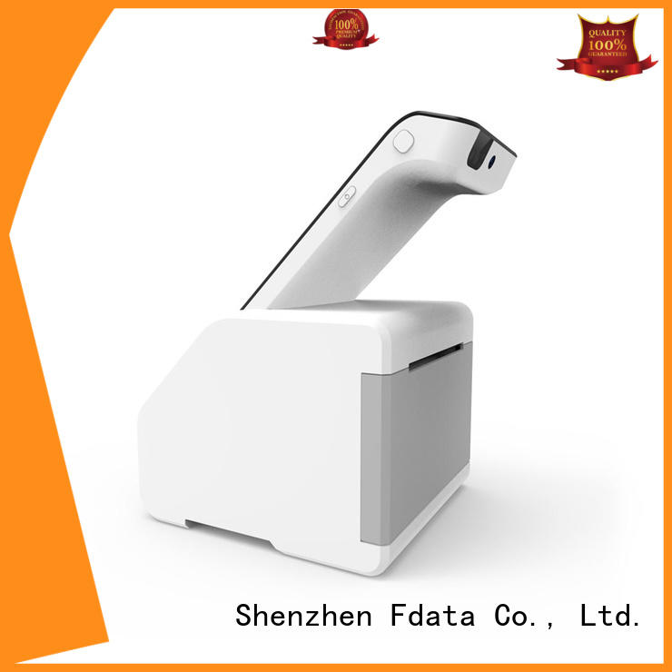 Fdata best price payment terminal wholesale with bar code reader