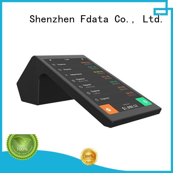 Fdata dual display mobile pos terminal supplier for restaurant