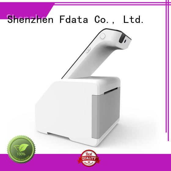 Fdata removable battery wireless pos terminals promotional with bar code reader