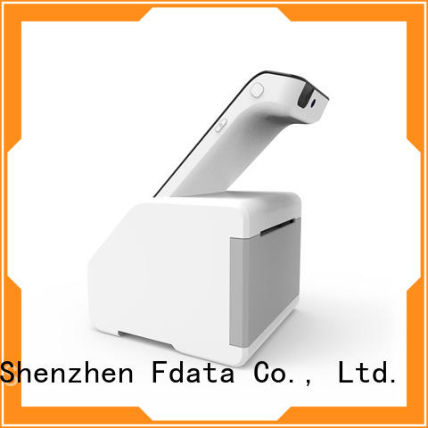 Fdata dual display portable pos system supplier best tablet solution