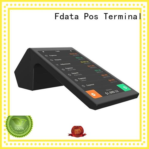 Fdata wifi-supportive mobile pos machine wholesale with bar code reader