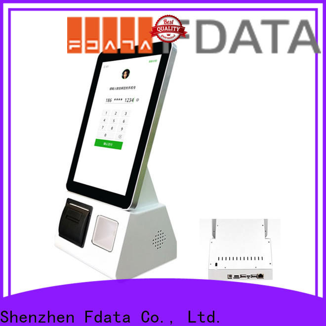 Fdata wholesale product information kiosk easy-installation shopping malls