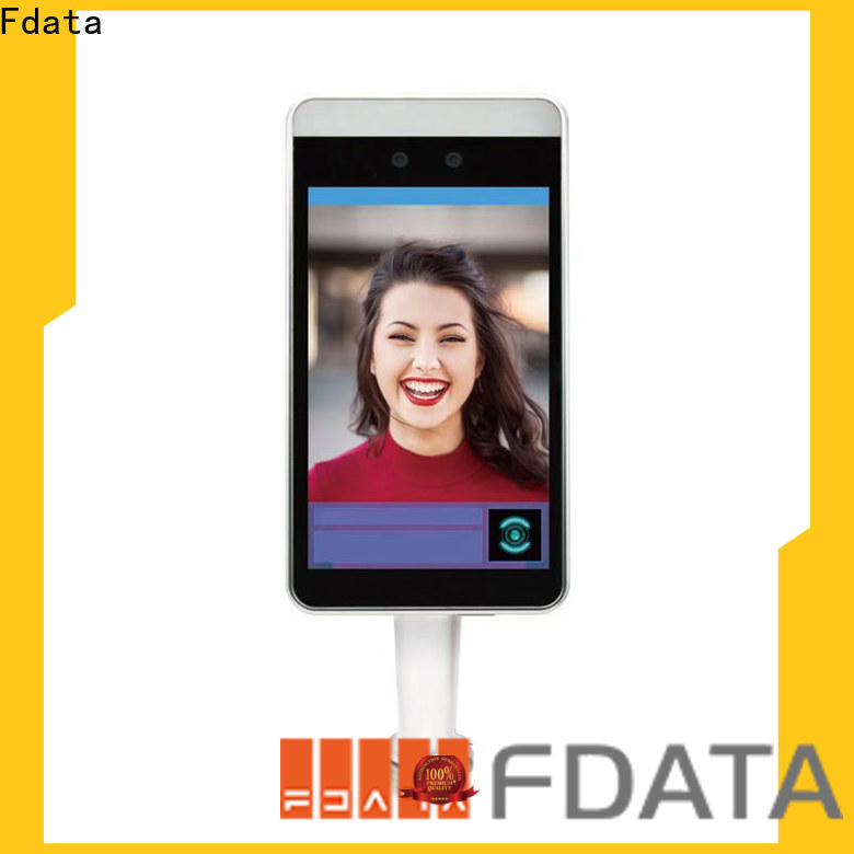 Fdata factory price face recognition terminal inquire now used in logistic