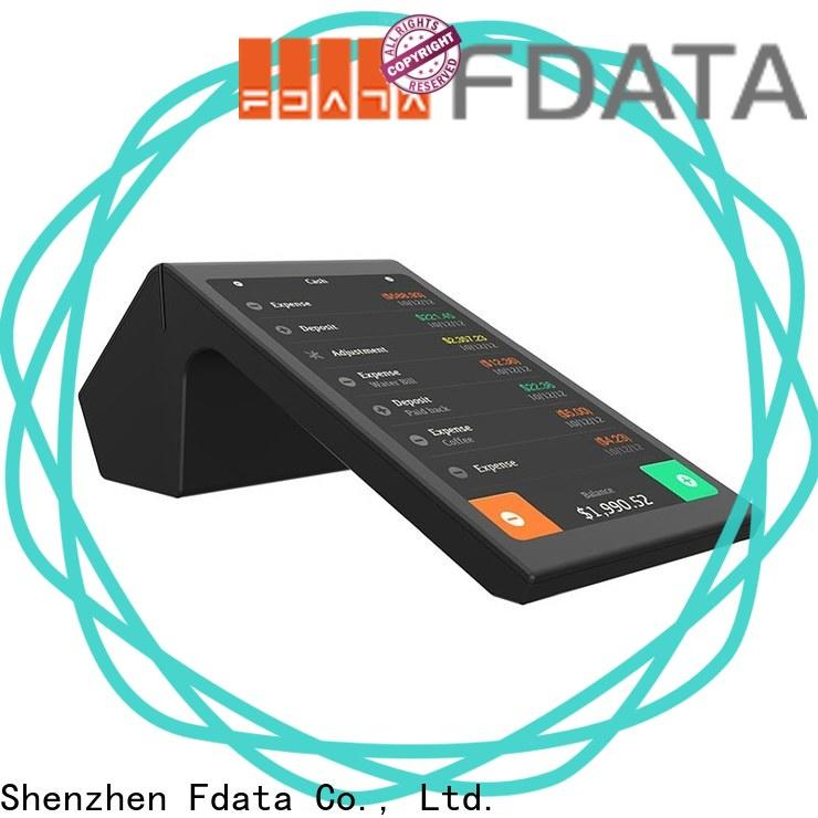 Fdata dual display pos smart promotional for sale