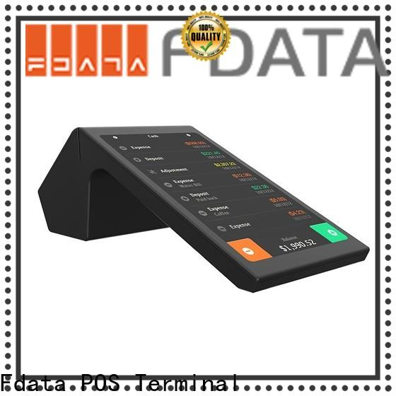 Fdata pos nfc terminals energy-saving for restaurant