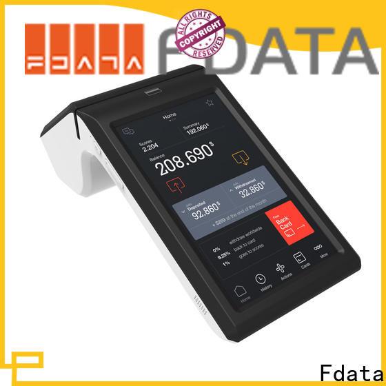 Fdata handheld pos terminal factory with bar code reader