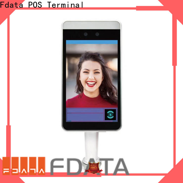 Fdata reliable facial identification terminal directly sale for security scan