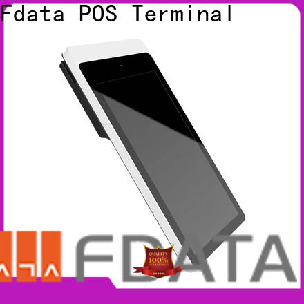 Fdata retail pos terminal top brand with bar code reader