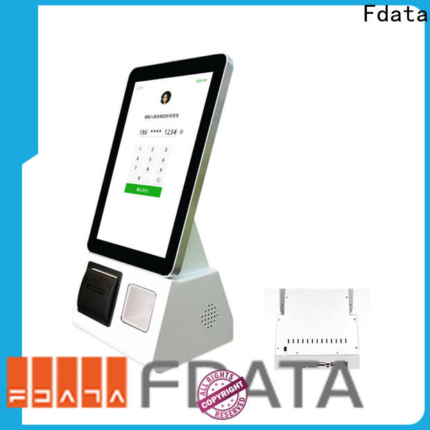 Fdata mall kiosk easy-installation for ordering