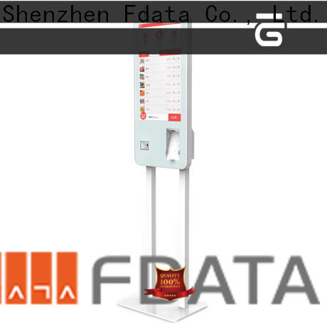 Fdata wifi kiosk machine supplier for bank