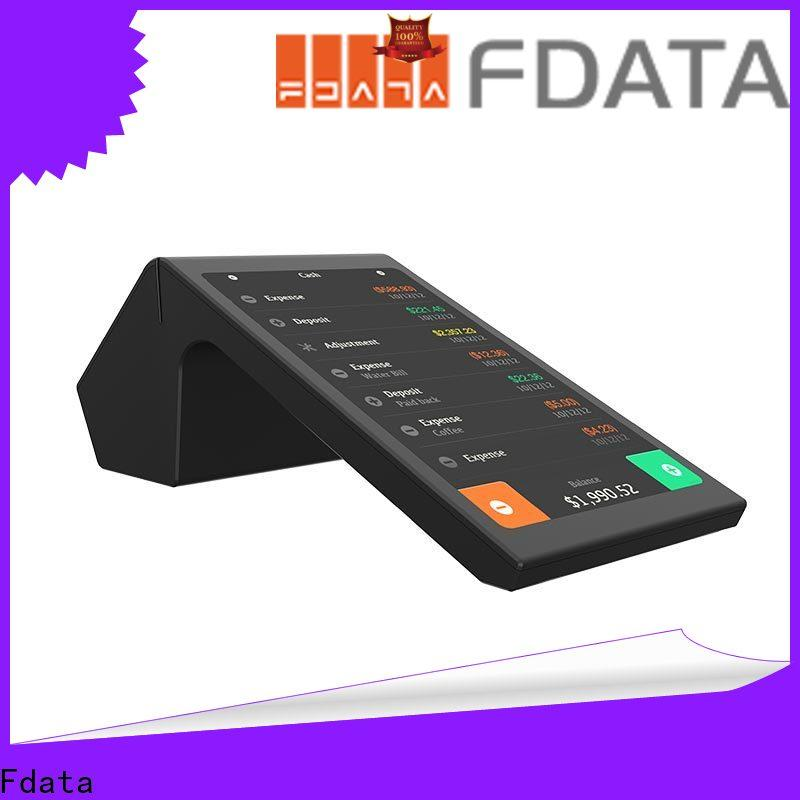 Fdata portable pos machine supplier with bar code reader