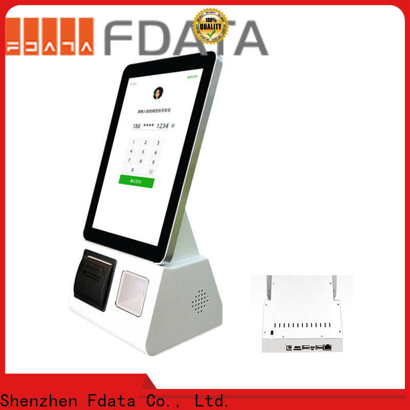 Fdata buy self service kiosk factory price at discount