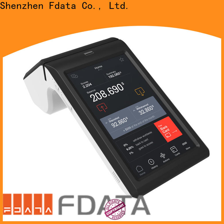 Fdata handheld pos device cost-effective for retail shops