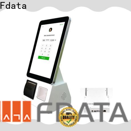 OEM smart self service kiosk easy operation for ordering