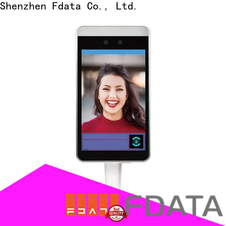 Fdata reliable face recognition machine from China used in ticketing