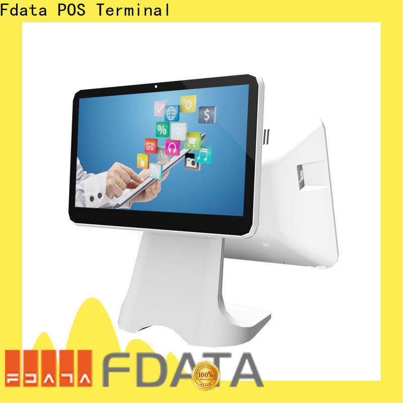 Fdata stable business cash register from China for coffee shop