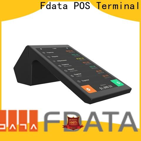 Fdata pos wifi terminal top brand with bar code reader