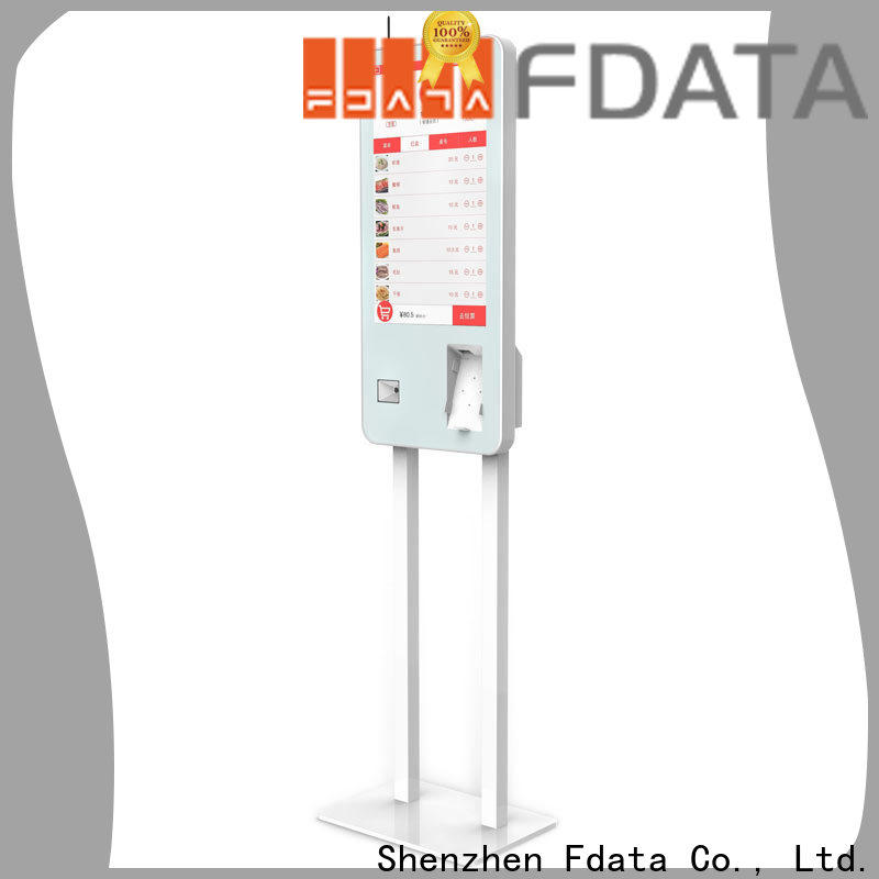 Fdata wholesale mobile kiosk factory price for chain shops