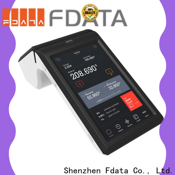 Fdata android handheld pos terminal high-quality for retail shops