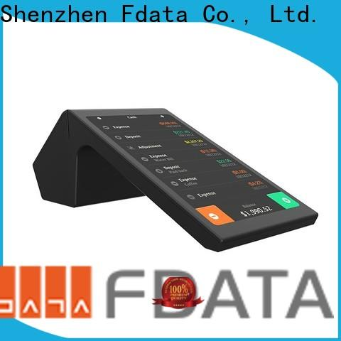 multi-language wireless pos top brand with bar code reader