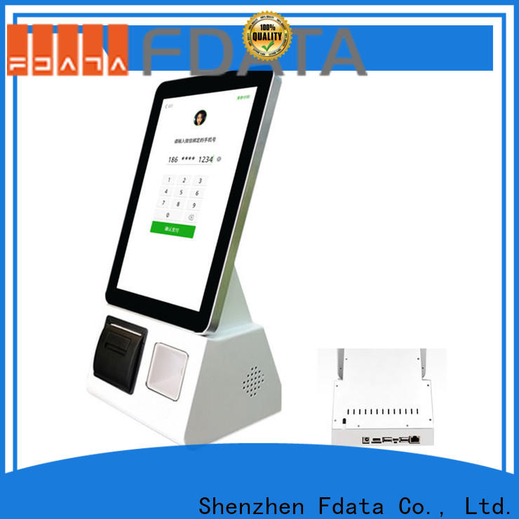 Fdata smart kiosk factory price at discount
