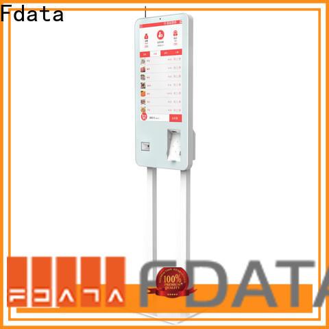 Fdata top quality smart self service kiosk supplier for restaurant