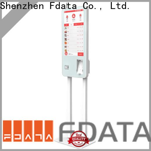 Fdata hotel kiosk floor standing for restaurant