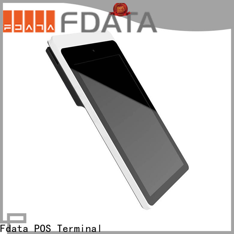 Fdata multi-functional pos card reader at discount for restaurant