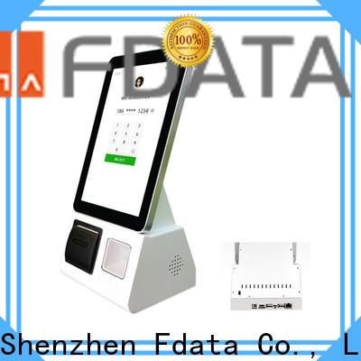 Fdata wifi kiosk machine factory price at discount