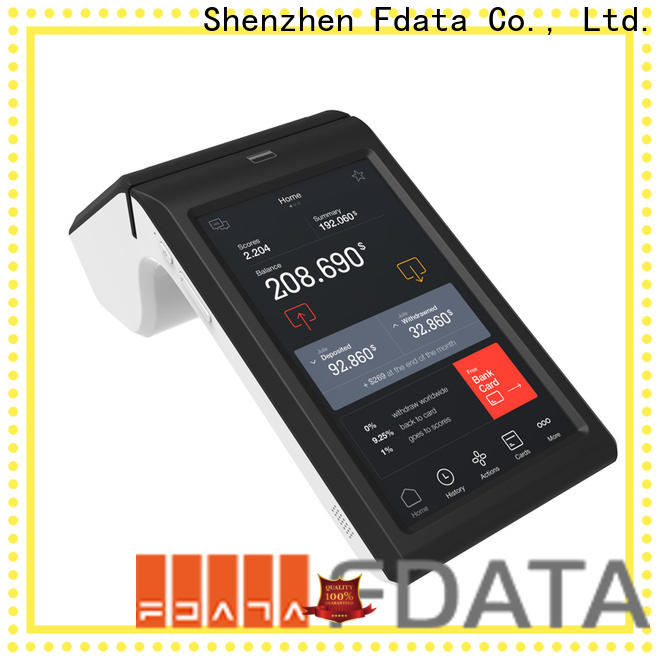 best price mobile pos terminal supplier best tablet solution