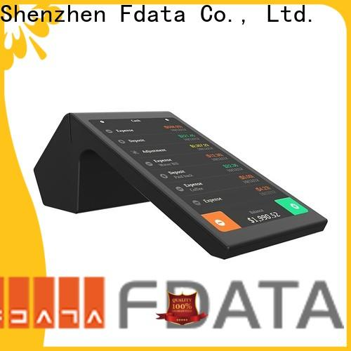 Fdata handheld wireless pos promotional with bar code reader