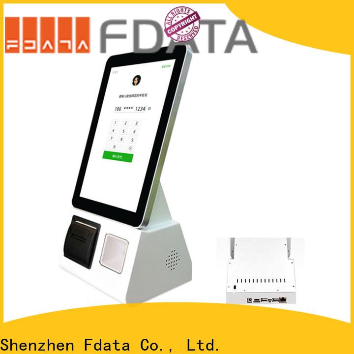 Fdata top quality shopping mall kiosk series for restaurant