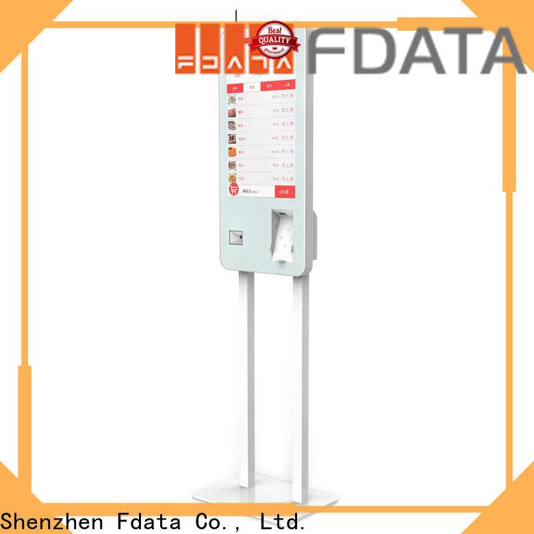 Fdata cost-effective buy self service kiosk floor standing shopping malls