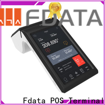 Fdata mobile pos system for android at discount for retail shops