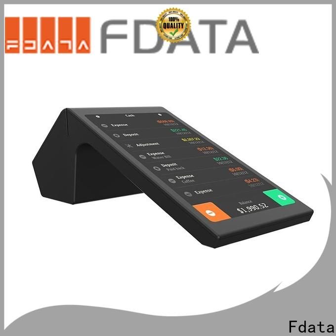 Fdata wireless handheld pos terminal at discount for retail shops