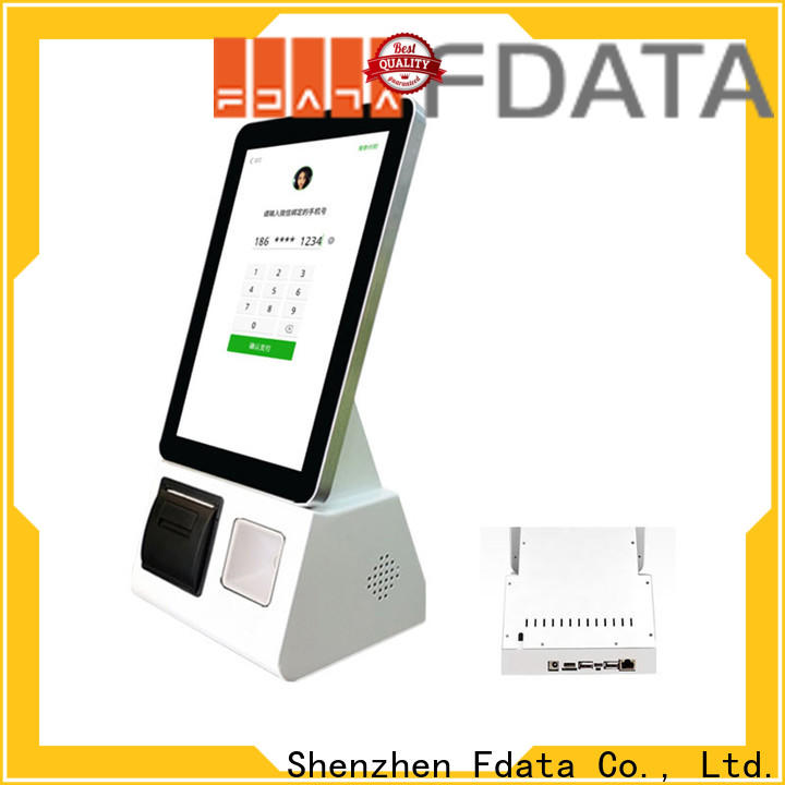 multi-language 32 inch kiosk easy-installation for chain shops