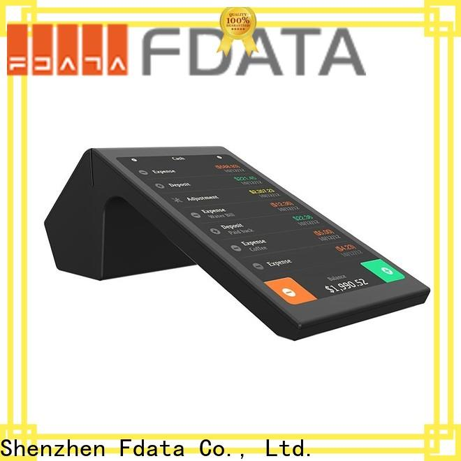 Fdata best price handheld pos terminal wholesale for coffee shop
