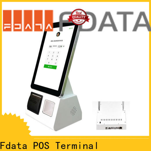Fdata energy-saving hospital kiosk design for bank