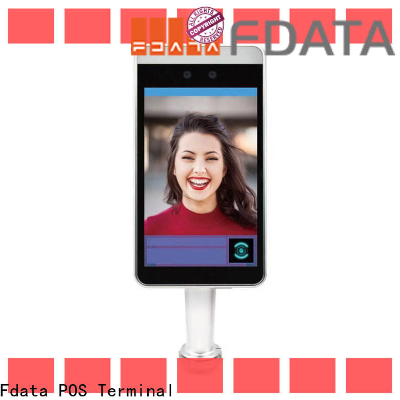 Fdata biometric attendance system face recognition factory for security scan