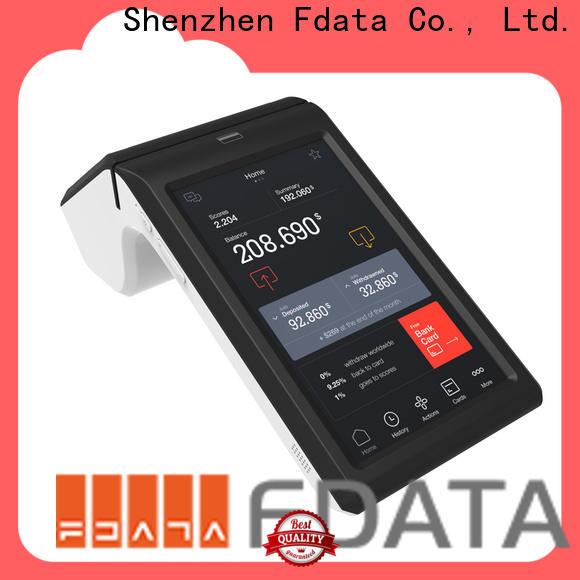 Fdata handheld pos at discount for restaurant