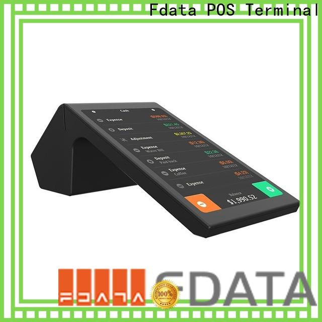 Fdata removable battery pos card reader high-quality for sale