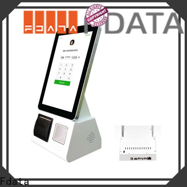 Fdata product information kiosk floor standing shopping malls