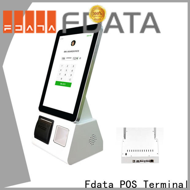 Fdata barcode scanner kiosk from China at discount