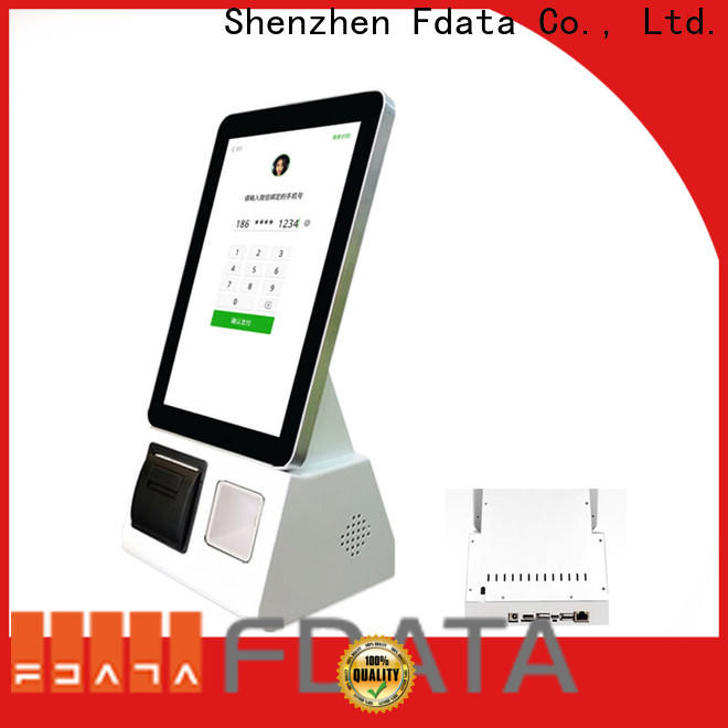 wifi-supportive self service kiosk restaurant factory price for restaurant