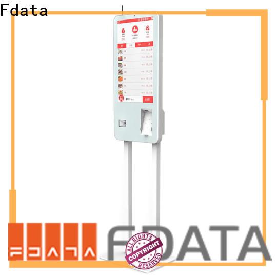 Fdata digital kiosk from China for chain shops