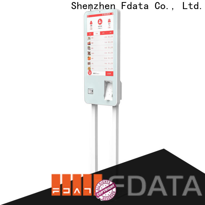 Fdata wifi-supportive self kiosk from China for chain shops