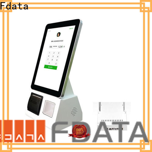 Fdata hospital kiosk wall-mounted for restaurant