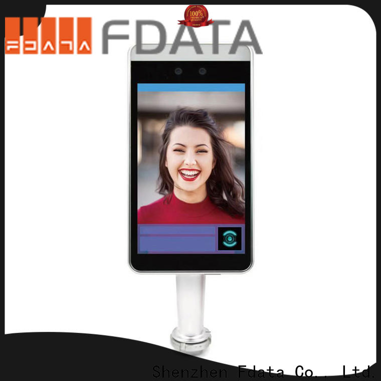 Fdata promotional face reader attendance machine factory used in retail